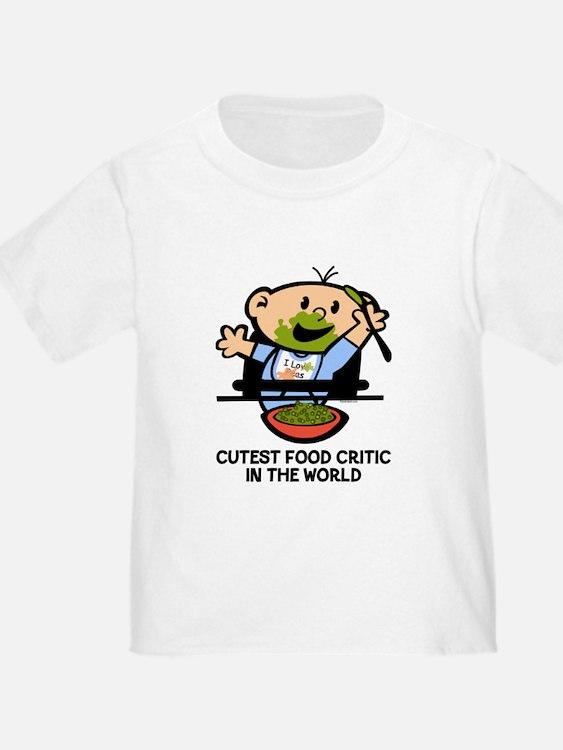 Cutest Food Critic T