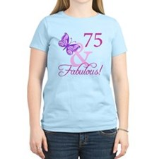 75 & Fabulous (Plumb) T-Shirt