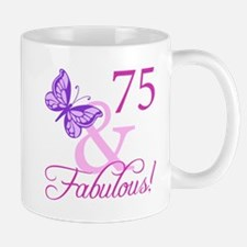75 & Fabulous (Plumb) Mug