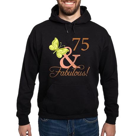 75 & Fabulous (Autumn) Hoodie (dark)