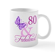 80 & Fabulous (Plumb) Mug