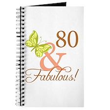 80 & Fabulous (Autumn) Journal