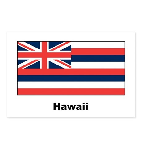 Hawaii State Flag Postcards (Package of 8)