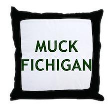 Unique Michigan wolverines Throw Pillow