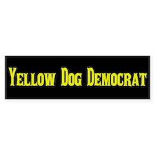 Yellow Dog Democrat Bumper Sticker