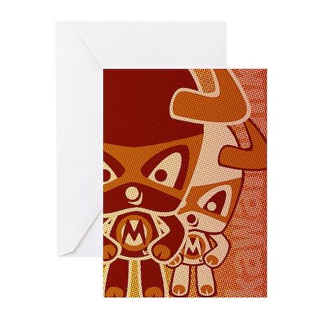 Minotaur Mascot HT Greeting Cards (10 Pack)