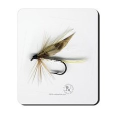Cummins Wet Fly (March Brown) Mousepad