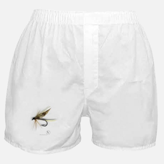 Cummins Wet Fly (March Brown) Boxer Shorts