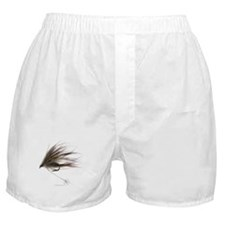 English Spey Fly Boxer Shorts