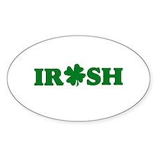 Irish Shamrock Decal