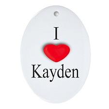 Kayden Oval Ornament