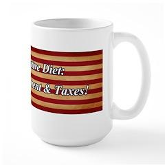 Conservative Diet Large Mug