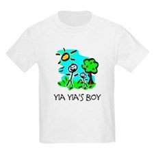 Yia Yia's Boy Stick Figure T-Shirt