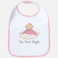 Yia Yia's Angel (Baby Girl) Bib