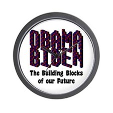 Obama Biden Future Wall Clock
