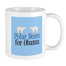 Polar Bears for Obama Mug