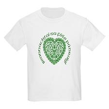 Irish Lace Heart (Gaelic) Kids T-Shirt