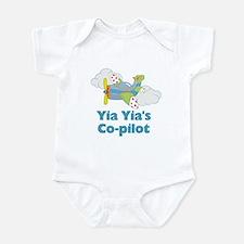 Yia Yia's Co-pilot (Boy) Infant Bodysuit