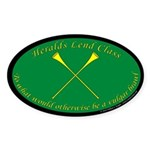 Heralds lend Class Sticker (Oval)