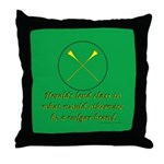 Heralds lend Class Throw Pillow