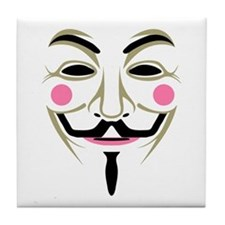 Guy Fawkes Tile Coaster