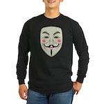 Guy Fawkes Long Sleeve Dark T-Shirt