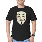 Guy Fawkes Men's Fitted T-Shirt (dark)