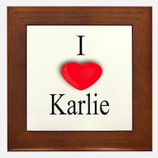 Karlie Framed Tile