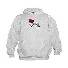 I Love Grey's Anatomy Hoodie