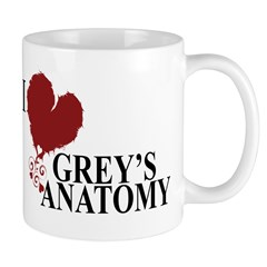 I Love Grey's Anatomy Mug