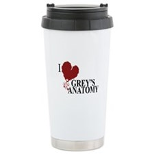 I Love Grey's Anatomy Thermos Mug