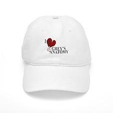 I Love Grey's Anatomy Cap