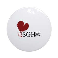 Seattle Grace Hospital Ornament (Round)