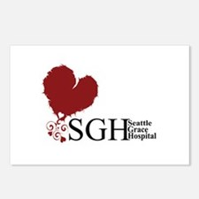 Seattle Grace Hospital Postcards (Package of 8)