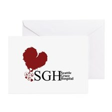 Seattle Grace Hospital Greeting Cards (Pk of 10)