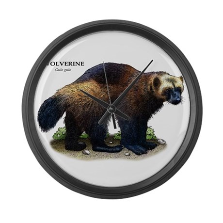 Wolverine Large Wall Clock