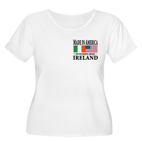 Irish American pride Women's Plus Size Scoop Neck