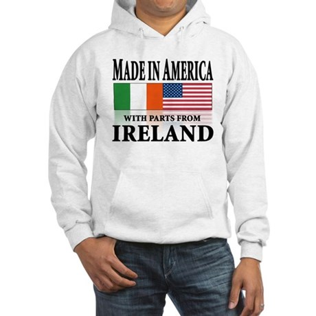 Irish American pride Hooded Sweatshirt