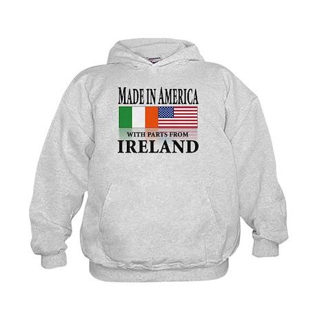 Irish American pride Kids Hoodie