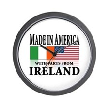 Irish American pride Wall Clock