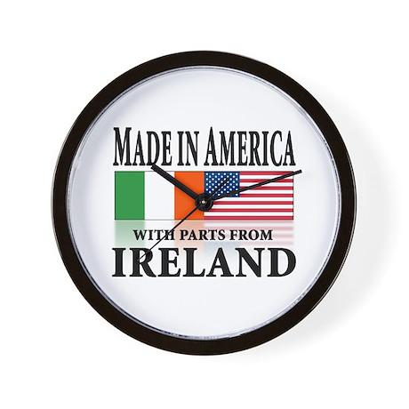 Irish American pride Wall Clock