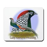 Lady Amherst Pheasant Mousepad