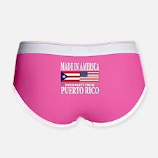 Puerto RICAN Women's Boy Brief