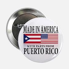 Puerto RICAN Button