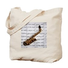Just One Note Tote Bag