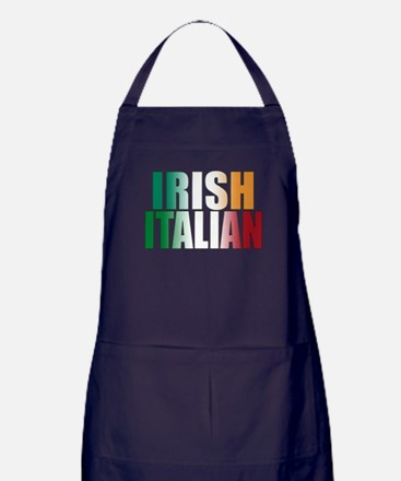 Irish Italian Apron (dark)