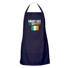 Smartass Irishman Apron (dark)