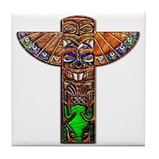 Tile Coaster Totem Pole Spirit Creatures