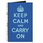 St. Petersburg Blue Notebook