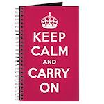 Raspberry Red Notebook